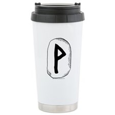 Viking Rune Wunjo Travel Mug