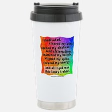 Spiritual Lousy Stainless Steel Travel Mug