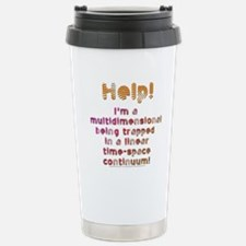 Multidimensional Being Stainless Steel Travel Mug