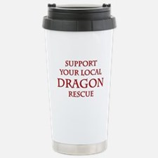 Dragon Rescue Stainless Steel Travel Mug