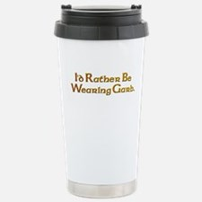 Rather Wear Garb Stainless Steel Travel Mug