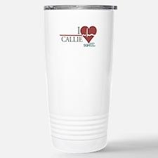 I Heart Callie - Grey's Anatomy Ceramic Travel Mug