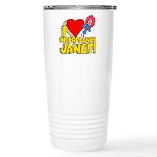 I Heart Interplanet Janet! Travel Mug