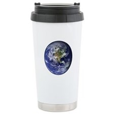 Western Earth from Space Travel Mug