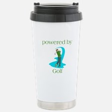 Powered By Golf Travel Mug