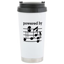 Powered By Music Travel Mug