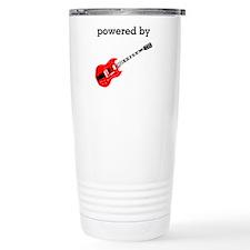 Powered By Guitar Travel Coffee Mug