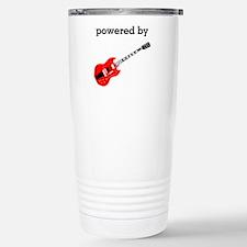 Powered By Guitar Travel Mug