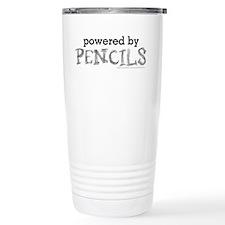 Powered By Pencils Travel Mug