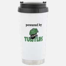Powered By Turtles Travel Mug