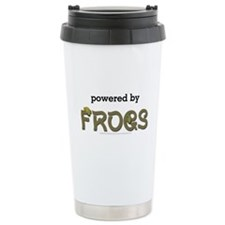 Powered By Frogs Travel Mug