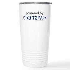 Powered By Chutzpah Travel Mug