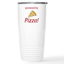 Powered By Pizza Travel Mug