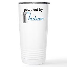 Powered By Butane Travel Mug