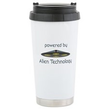 Powered By Alien Technology Travel Mug