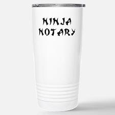 Ninja Notary Travel Mug
