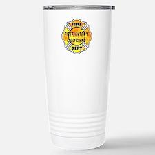 Firefighters Girlfriend Stainless Steel Travel Mug