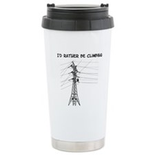 Id Rather Be Climbing Travel Mug