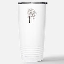 Brown Trees Travel Mug