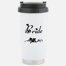 Classic Bride Stainless Steel Travel Mug