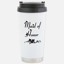 Classic Maid of Honor Stainless Steel Travel Mug