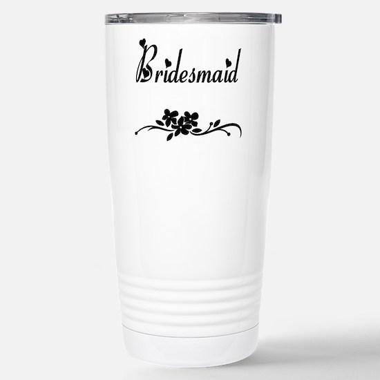 Classic Bridesmaids Stainless Steel Travel Mug