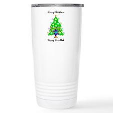 Christmas Hanukkah Interfaith Travel Mug