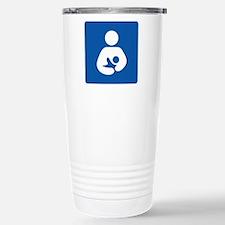 Breast Feeding Icon Travel Mug