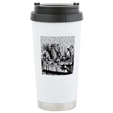 alice-vintage-border_bw_9x9.png Travel Mug