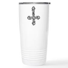 goth-cross-invert_bk.png Thermos Mug