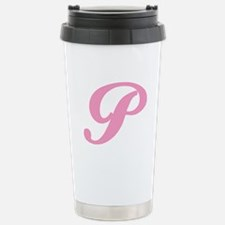 P-pink-initial_tr.png Stainless Steel Travel Mug