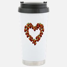 strawberry-heart.png Stainless Steel Travel Mug