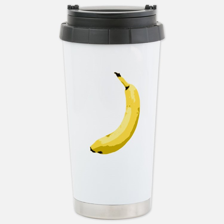 banana_up.gif Stainless Steel Travel Mug