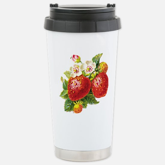 vic-strawberry.png Stainless Steel Travel Mug