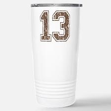 Retro 13 Number Travel Mug