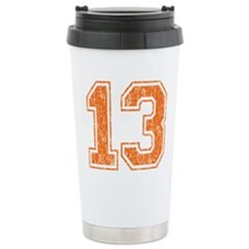 Retro 13 Number Travel Mug