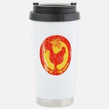 Cute Year of the rooster Travel Mug