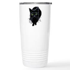 black-kitty.png Travel Mug