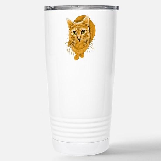 orange-kitty.png Stainless Steel Travel Mug