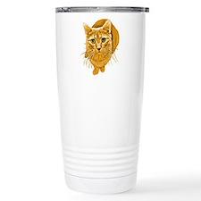 orange-kitty.png Travel Mug