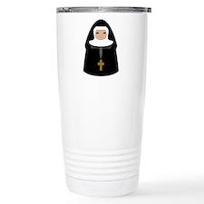 nun-cute_tr-bl.png Travel Mug