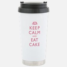 Keep Calm And Eat Cake Travel Mug