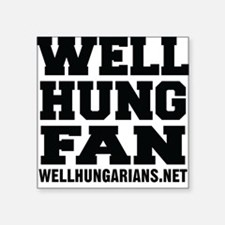 Well Hung Fan Sticker
