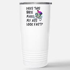Funny Bike Saying Stainless Steel Travel Mug
