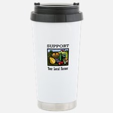Support Your Local Farmer Travel Mug