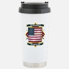 9th Massachusetts (Diamond).png Travel Mug