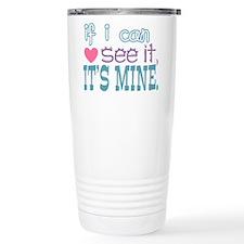 If I Can See It Travel Mug