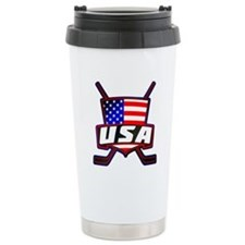 American Hockey Shield Logo Travel Mug