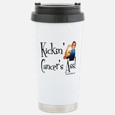 Kickin' Cancer's Ass! Travel Mug