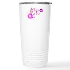 Mimi To Be Flowers Travel Mug